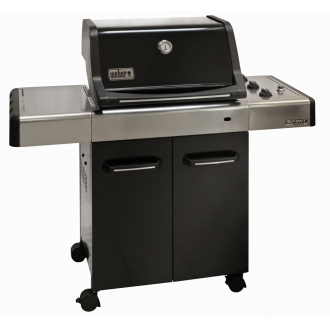 weber gasgrill spirit e 310 premium black grill gas e310 ebay. Black Bedroom Furniture Sets. Home Design Ideas