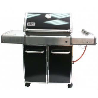 weber 3751079 gasgrill genesis e 320 schwarz gas grill grillen ebay. Black Bedroom Furniture Sets. Home Design Ideas