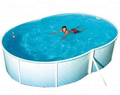 Swimmingpool pool stahlwandbecken 7 3 x 3 7 x 1 2 m for Stahlwandbecken 2 m durchmesser