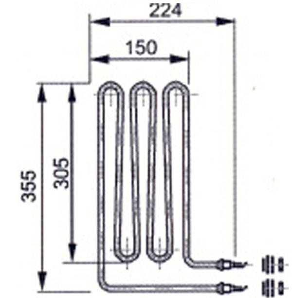 Eos-2000-W-Heizstab-Saunaofen-Sauna-Ofen-Saunaheizgeraet